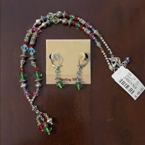 Talbots necklace with matching earrings